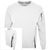 Product Image for CP Company Crew Neck Sweatshirt White