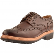 Product Image for Grenson Archie Brogues Shoes Brown