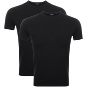 Product Image for DSQUARED2 Underwear 2 Pack T Shirts Black