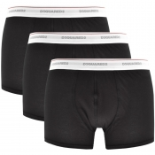 Product Image for DSQUARED2 Underwear 3 Pack Trunks Black