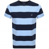 Product Image for Gant Original Barstripe T Shirt Blue