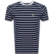 Product Image for Luke 1977 Finn Stripe T Shirt Navy