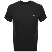 Product Image for Jack Wills Sandleford Short Sleeved T Shirt Black
