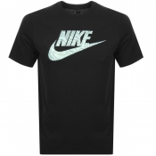 Nike Crew Neck Logo T Shirt Black
