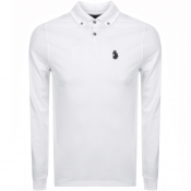 Product Image for Luke 1977 Long Sleeved Bill Polo T Shirt White
