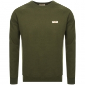 Nudie Jeans Samuel Sweatshirt Green