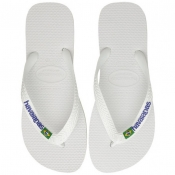Product Image for Havaianas Brazil Logo Flip Flops White