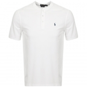 Product Image for Ralph Lauren Crew Neck Pique T Shirt White