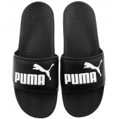 Puma Popcat Sliders Black