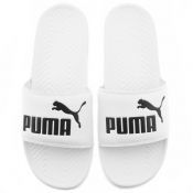 Puma Popcat Sliders White