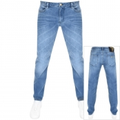 Armani Exchange J75 Slom Fit Jeans Blue