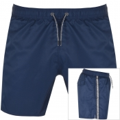 Emporio Armani Taped Swim Shorts Navy img