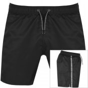 Emporio Armani Taped Swim Shorts Black img