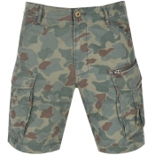Product Image for G Star Raw Rovic Relaxed Shorts Green