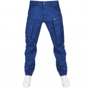 G Star Raw Rovic Tapered Trousers Blue