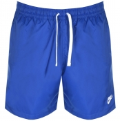 Nike Flow Logo Swim Shorts Blue img