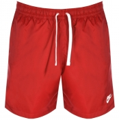 Nike Flow Logo Swim Shorts Red img