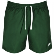 Nike Flow Logo Swim Shorts Green img