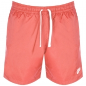 Nike Flow Logo Swim Shorts Pink img