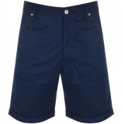 G Star Raw Faeroes Relaxed Shorts Navy