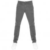 Nudie Jeans Slim Adam Trousers Grey