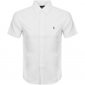 Product Image for Ralph Lauren Short Sleeved Slim Fit Shirt White