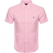 Product Image for Ralph Lauren Short Sleeved Slim Fit Shirt Pink
