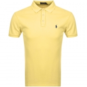 Ralph Lauren Short Sleeved Polo T Shirt Yellow