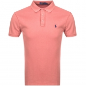 Ralph Lauren Short Sleeved Polo T Shirt Pink