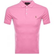 Ralph Lauren Slim Fit Polo T Shirt Pink