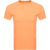 Ralph Lauren Crew Neck T Shirt Orange