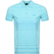 BOSS Athleisure Paddy 3 Polo T Shirt Blue