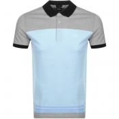 BOSS Athleisure Paddy 4 Polo T Shirt Blue