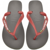 Product Image for Havaianas Brazil Logo Flip Flops Grey