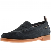 Product Image for GH Bass Weejun II Larson Suede Loafers Navy