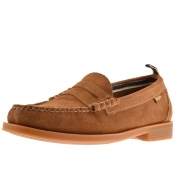 Product Image for GH Bass Weejun II Larson Suede Loafers Brown