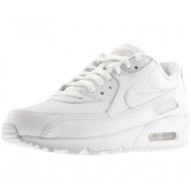 Nike Air Max 90 Leather Trainers White