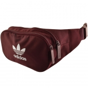 Adidas Originals Essential Cross Body Bag Burgundy