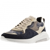 Android Homme Malibu Velvet Trainers Blue
