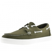 Timberland Union Wharf Boat Shoes Green