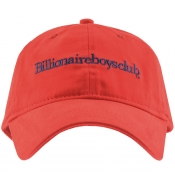 Billionaire Boys Club Logo Cap Red