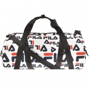 Product Image for Fila Vintage Ezzard Duffle Bag White