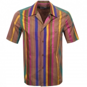Product Image for Vivienne Westwood Short Sleeved Stripe Shirt Pink