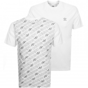 adidas Originals Monogram T Shirt White