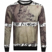 Product Image for Vivienne Westwood Crew Neck Sweatshirt Khaki