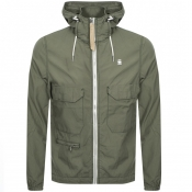 Product Image for G Star Raw XPO Hooded Overshirt Jacket Green