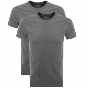 Product Image for Levis Original Two Pack Crew Neck T Shirt Grey