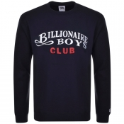 Billionaire Boys Club Logo Sweatshirt Navy