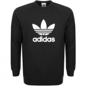 Product Image for Adidas Originals Trefoil Sweatshirt Black