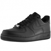 Product Image for Nike Air Force 1 07 Trainers Black
